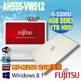 ~DrK~Fujitsu 富士通 AH555~VW512 天使白 15吋 I5~5200U