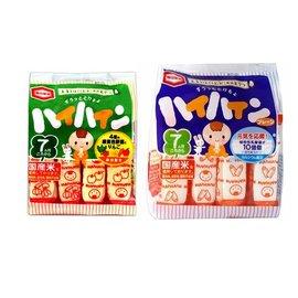 ~紫貝殼~~ZC05~1 ZC05~2~ 製 龜田嬰兒米餅 米果 植物乳酸菌 蘋果野菜