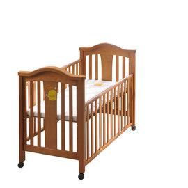 黃色小鴨豪華松木嬰兒床+7件被組