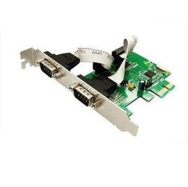 PCI-E轉RS232(RS-232) 2 port /2阜 COM串口卡/擴充卡