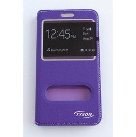 TYSON ASUS ZenFone Go(ZC500TG) 雙視窗磁扣側翻手機保護皮套 紫 &另有 ZenFone 3 (ZE552KL)/Zenfone go (ZB450KL) 歡迎詢問