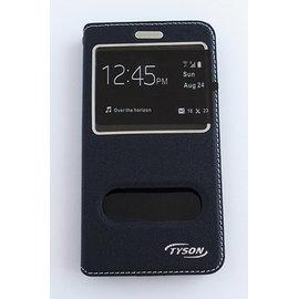 TYSON ASUS ZenFone Go(ZC500TG) 雙視窗磁扣側翻手機保護皮套 黑 &另有 ZenFone 3 (ZE552KL)/ Zenfone go (ZB450KL)歡迎詢問