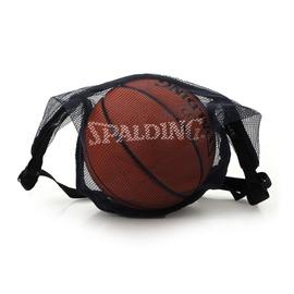 SPALDING 斯伯丁單顆裝網袋深藍(NBA 配件 球袋 籃球 足球【99300115】≡排汗專家≡