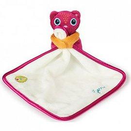 【紫貝殼】『OOPS05-1』瑞士【OOPS】歐歐皮 安撫玩偶口水-貓咪【來自瑞士,嚴格把關的寶寶設計品牌】