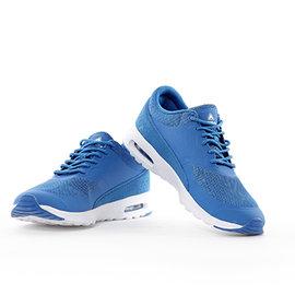 美國AIRWALK輕量慢跑記憶鞋墊鞋 ~男 藍