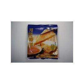 ~炸點心系列~月亮蝦餅 ^(2片^)  約400g ^~ 新鮮蝦仁花枝讓您吃起來過癮^~
