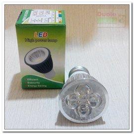5燈5W白光LED投射燈泡 E27投射燈 杯燈 LED崁燈