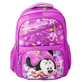 迪士尼Disney 米妮幼兒園寶寶早教書包 卡通米奇減壓護脊防水兒童雙肩包背包 小學生大容
