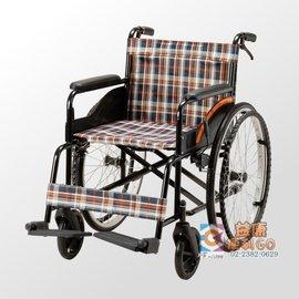 益康便利GO 均佳JW-001 鐵製輪椅-經濟型