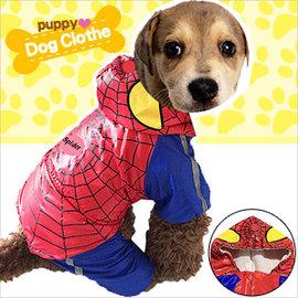 蜘蛛人變身雨衣寵物裝E118~A170 ^(寵物衣服寵物服裝寵物服飾店.毛小孩小狗衣服小貓