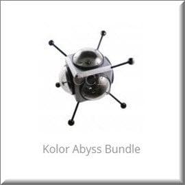 Kolor Abyss Bundle GoPro 攝影機水底360度虛擬實境影片攝影套件