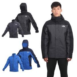 THE NORTH FACE 男 HV刷毛兩件式外套(免運 登山 保暖 防風【03391029】≡排汗專家≡