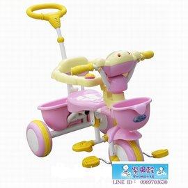 【紫貝殼】『CI16』2015年最新款 久達尼-三輪車(粉色)T-100【台灣生產製造●品質有保證】