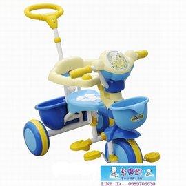 【紫貝殼】『CI16』2015年最新款 久達尼-三輪車(藍色)T-100【台灣生產製造●品質有保證】