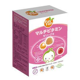 【紫貝殼】『PAYFUN04』《Pay Fun》寶寶營養食品 軟晶亮葉黃素Q軟糖-蘋果口味(台灣製)