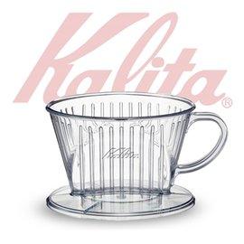 簡易沖泡Kalita 101D傳統塑脂三孔濾杯^#04001