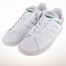 ADIDAS NEO系列 DRB SET 學生鞋 皮革 復古 運動鞋-白 (F98469)