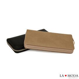 La Moda  款 單品低調奢華多 長夾 ^(共2色^)