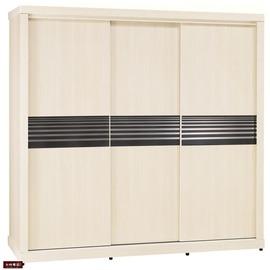 ~台北家福~^(FB091~3^)弗格森白雪杉7尺推門衣櫥衣櫃