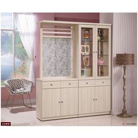 ~台北家福~^(FB180~1^)白雪杉5.3尺雙面隔間櫃 玄關櫃