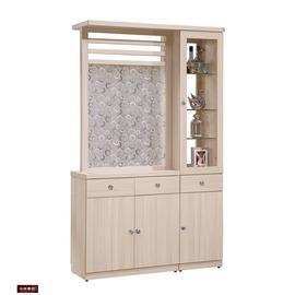 ~台北家福~ FB180~5 白雪杉4尺雙面隔間櫃 玄關櫃