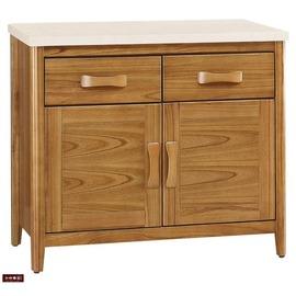 ~台北家福~^(FB278~4^)愛莉絲柚木3尺碗櫃 櫃下座