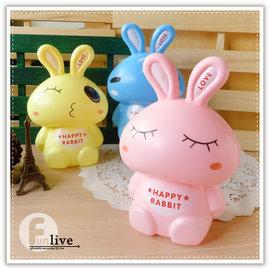 【Q禮品】A2684 卡通兔存錢筒/撲滿/兔兔存錢筒/動物存錢筒/兔子造型存錢筒/禮品贈品