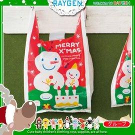 烘焙餅乾聖誕大小雪人糖果手提袋 餅乾袋 包裝袋 單售【HH婦幼館】