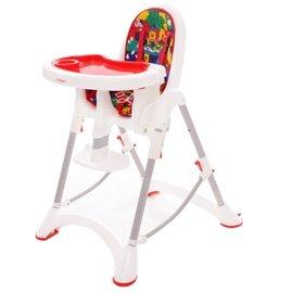 【紫貝殼】『DE06』台灣製 myheart 折疊式兒童安全餐椅(卡通紅)【公司貨】【買就送一支美國 正品 Pura 不鏽鋼奶瓶/原價899元】