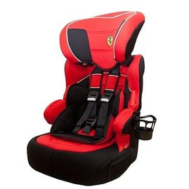 【紫貝殼】『GCF03-1』2016年新款 法國 Ferrari 法拉利 旗艦成長型汽車安全座椅 3-12歲專用(含杯架)【公司貨●法國生產製造●品質保證】