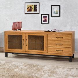 ~Homelike~ 黑森林5尺電視櫃 視聽櫃 置物櫃 低櫃 書櫃 矮櫃 收納櫃 客廳