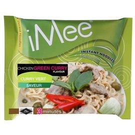 ~乾濕2食的泰國泡麵~泰國~iMee~愛迷綠咖哩湯麵 ^(5包入^)