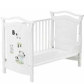 《Baby City》依莎德倫搖擺大床 白色  床墊