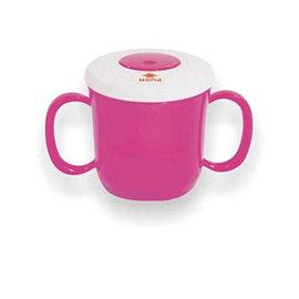 Baby Mug吸管雙耳杯-粉色