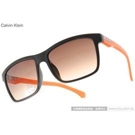 Calvin Klein 太陽眼鏡 CKJ765SAF 002 ^(黑~橘^) 率性百搭