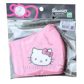 凱蒂貓兒童立體口罩-粉紅(KT-BB031)