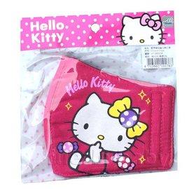 凱蒂貓兒童立體口罩-桃紅(KT-BB034)