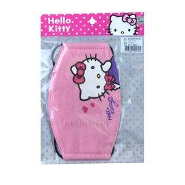凱蒂貓兒童平面口罩-粉色(KT-BB032)
