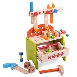~Amuzinc酷比樂~木頭玩具 木質家家酒 小號工具台 13023