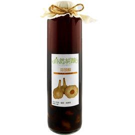 自然純釀 蒜頭醋600ml 純釀健康醋~一年以上自然熟成~天然純釀果醋