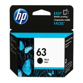 HP F6U62AA NO.63 黑色墨水匣 HP DJ3630 DJ2180 DJ111