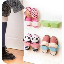 收納 創意宜家立體掛式鞋架 塑料壁掛式鞋架 日用百貨 【HH婦幼館】