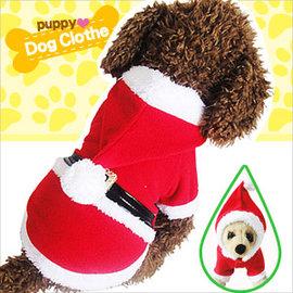 聖誕老人兩腿變身寵物裝E118-A146 (耶誕寵物衣服寵物服裝寵物服飾店.毛小孩小狗衣服小貓衣服秋冬.卡通寵物用品百貨.推薦哪裡買)