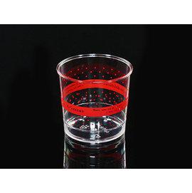 慕斯杯 果凍杯^(紅^)_20入 水玉點點 奶酪杯 甜品杯 布丁杯 茶凍 透明杯 馬芬杯