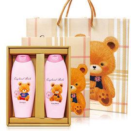 英國貝爾-香氛沐浴 C 1沐浴1洗髮  含紙袋