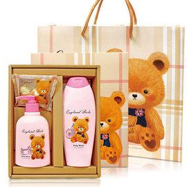 英國貝爾-香氛沐浴 D 1洗髮精1洗手1皂  含紙袋