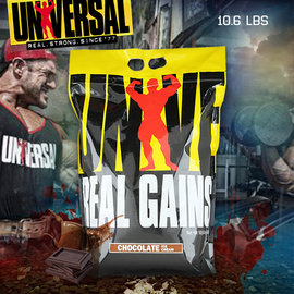 Universal Nutrition Real Gains 10.6磅 高蛋白 環球巨獸