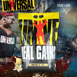 Universal Nutrition Real Gains 10.6磅 高蛋白環球巨獸熱