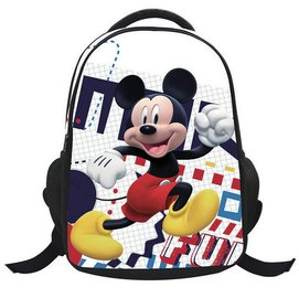 迪士尼Disney 卡通可愛3D動漫米奇米妮小學生減負書包雙肩包 卡通米奇米妮兒童護脊書包