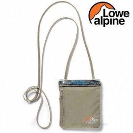~台南悠活 家~Lowe Alpine 英國 TT Dryzone掛頸護照包 棕灰 FAC